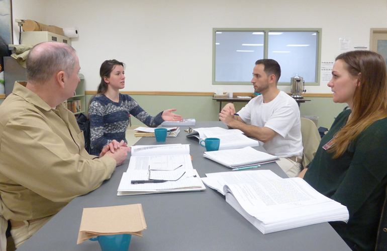 UW students learn alongside inmates at Monroe Correctional Complex in mixed enrollment course