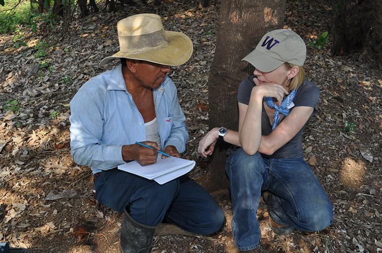 Angelina Godoy in El Salvador