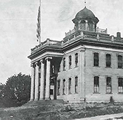 First UW building, 1861.