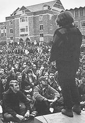 Vietnam War rally