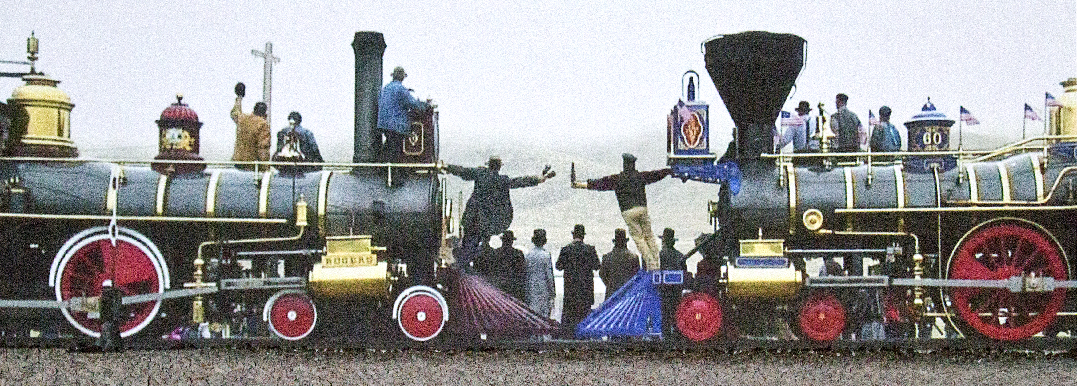 video still from Golden Spike Celebration
